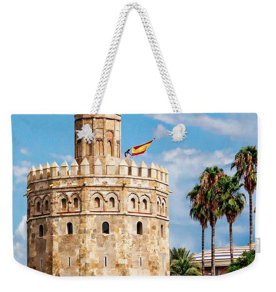 Tower Of Gold Weekender Tote Bag