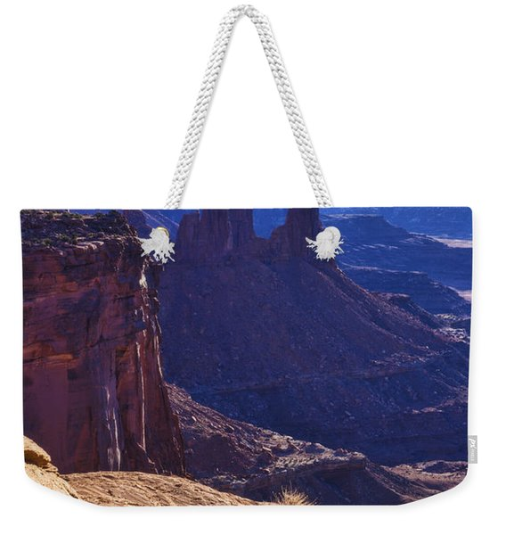 Tower Sunrise Weekender Tote Bag