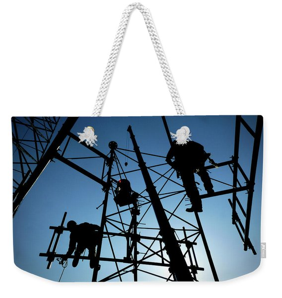 Tower Tech Weekender Tote Bag