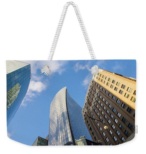 Towering Weekender Tote Bag