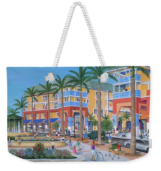 Town Center Abacoa Jupiter Weekender Tote Bag