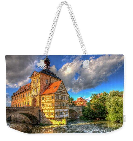 Town Hall Of Bamberg Weekender Tote Bag