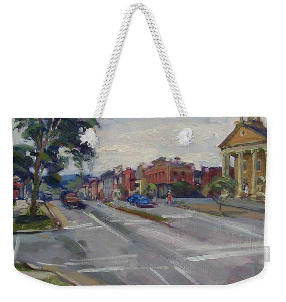 Town Of Canandaigua Ny Weekender Tote Bag