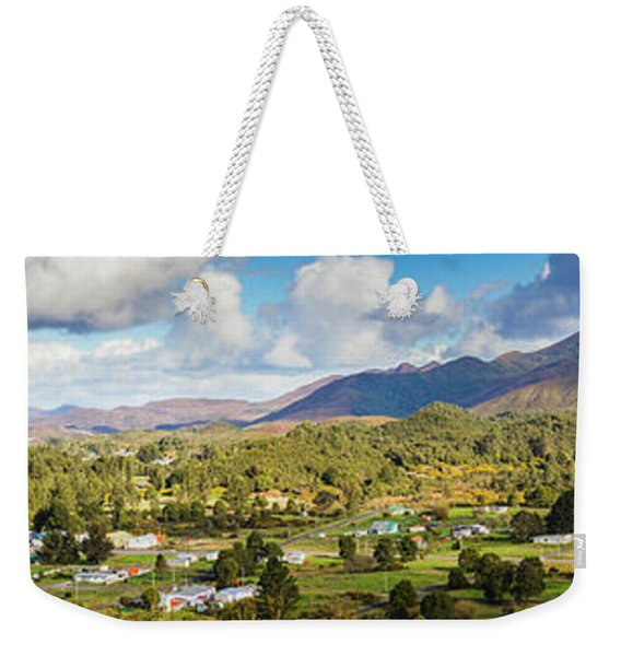 Town Of Zeehan Australia Weekender Tote Bag