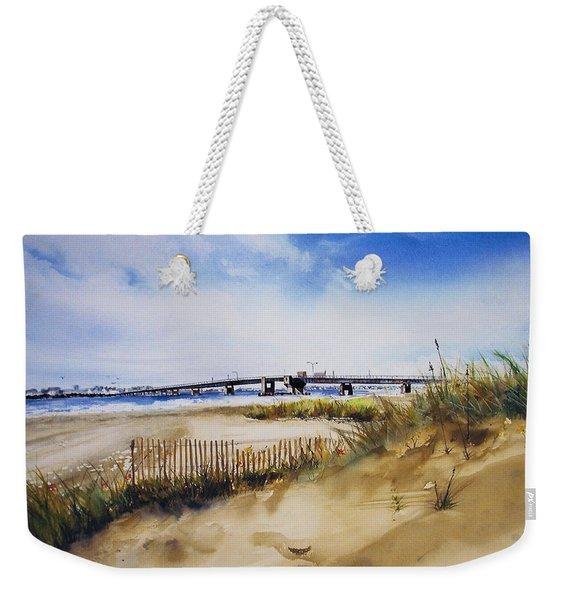 Townsends Inlet Weekender Tote Bag