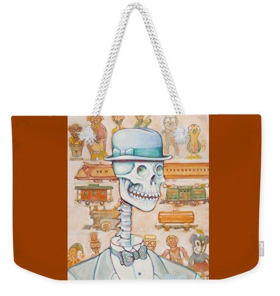 Toy Bones Weekender Tote Bag