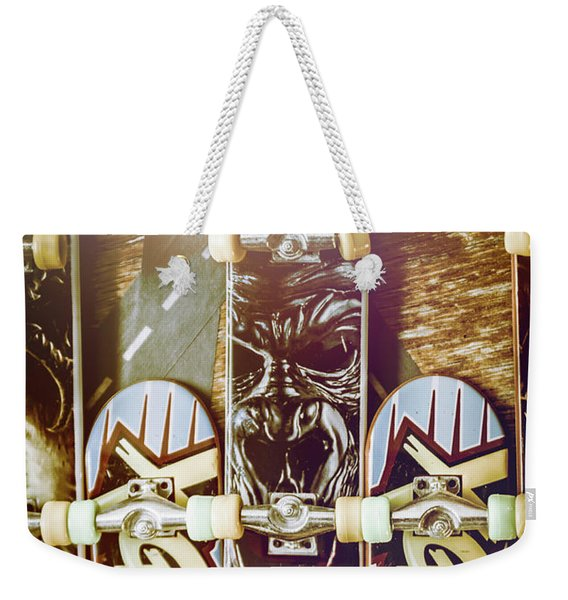 Toy Skateboards Weekender Tote Bag