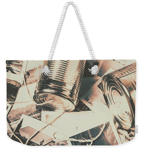 Toy Telecommunications Weekender Tote Bag