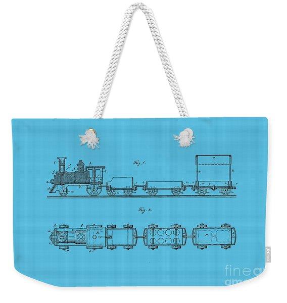 Toy Train Tee Weekender Tote Bag