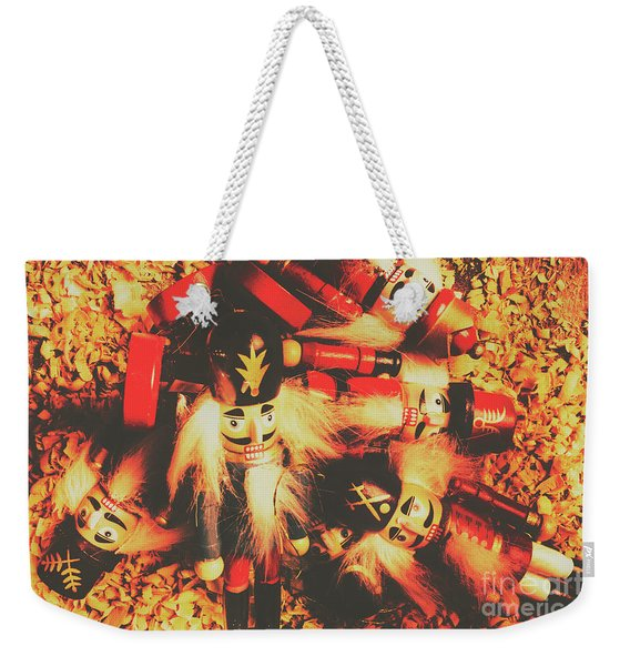 Toy Workshop Soldiers Weekender Tote Bag