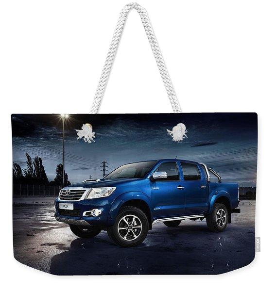 Toyota Hilux Weekender Tote Bag