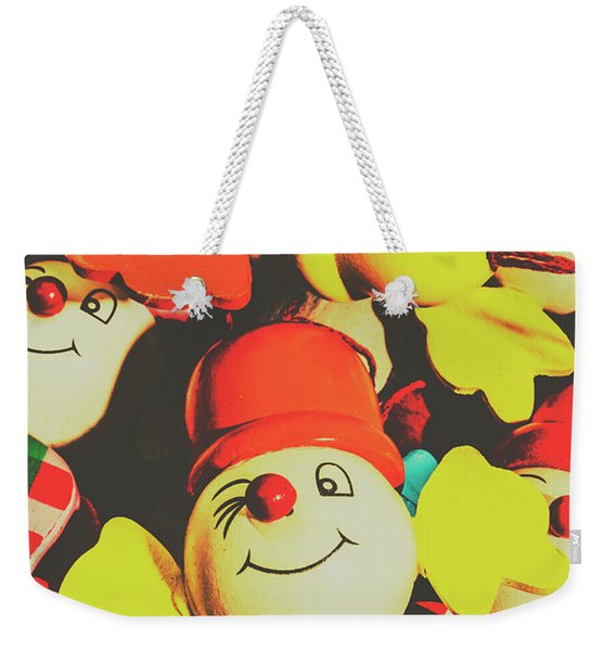 Toys From Old Play Weekender Tote Bag