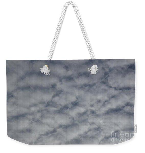 Trace Of Airplane Weekender Tote Bag