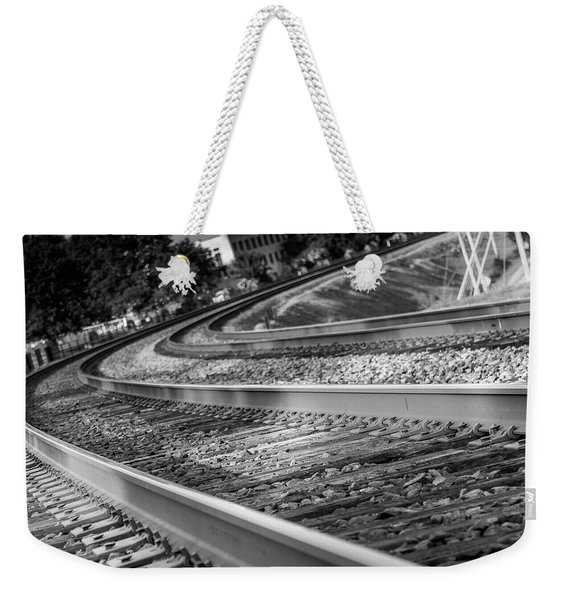 Tracks Through Historic Buford Weekender Tote Bag