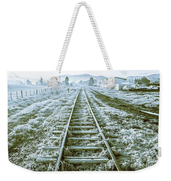 Tracks To Travel Tasmania Weekender Tote Bag