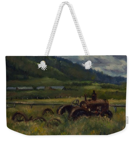 Tractor From Swan Valley Weekender Tote Bag