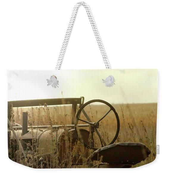 Tractor Sunrise Weekender Tote Bag
