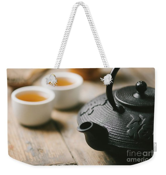 Traditional Asian Tea Weekender Tote Bag
