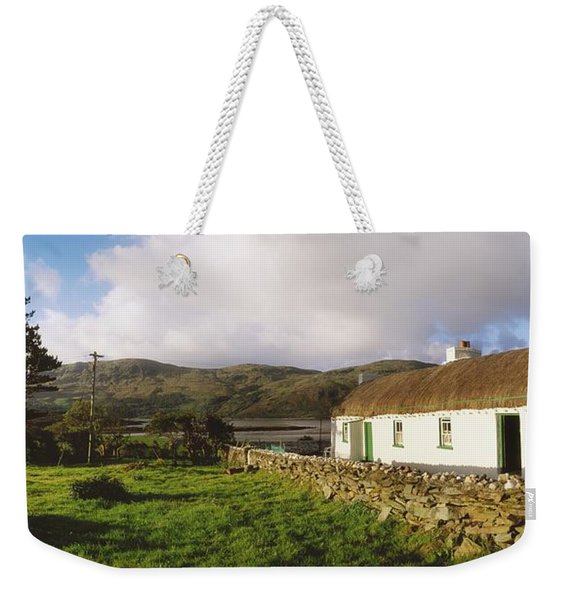 Traditional Cottage, Near Lough Rus Weekender Tote Bag