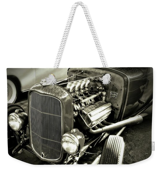 Traditional Hemi Bw Weekender Tote Bag