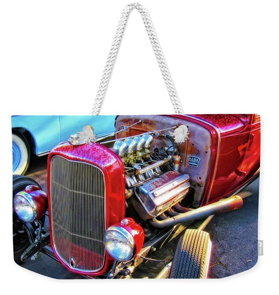 Traditional Hemi Weekender Tote Bag