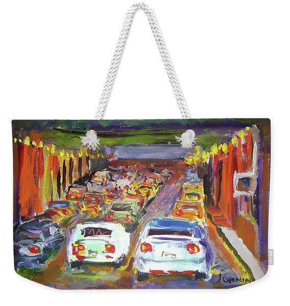 Traffic Jam Weekender Tote Bag