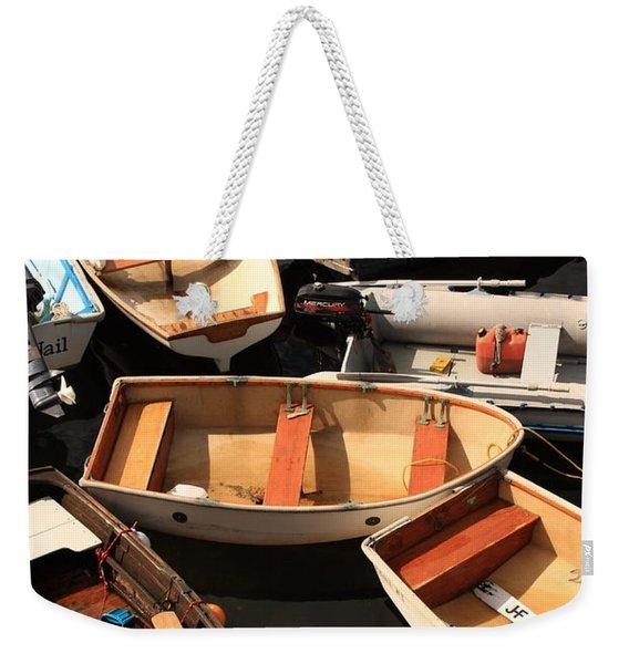 Trafic Jam Weekender Tote Bag