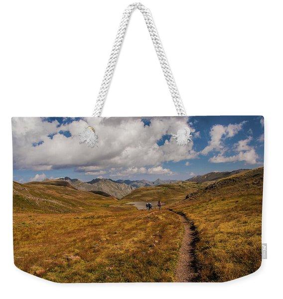 Trail Dancing Weekender Tote Bag