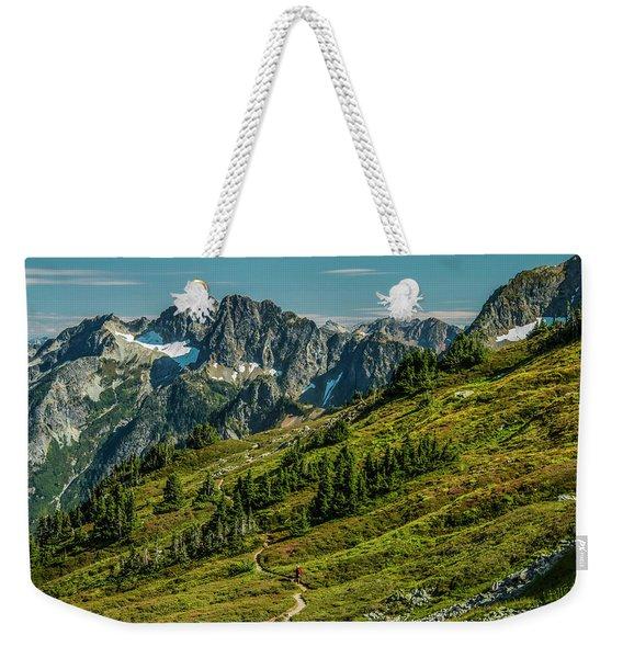 Trail Roaming Weekender Tote Bag