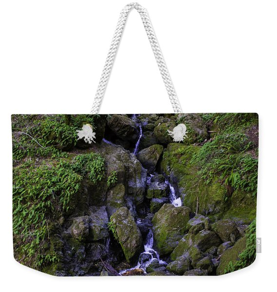 Trail Side Falls Weekender Tote Bag