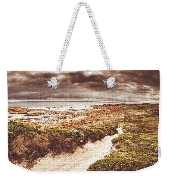 Trail To Western Tasmania Weekender Tote Bag