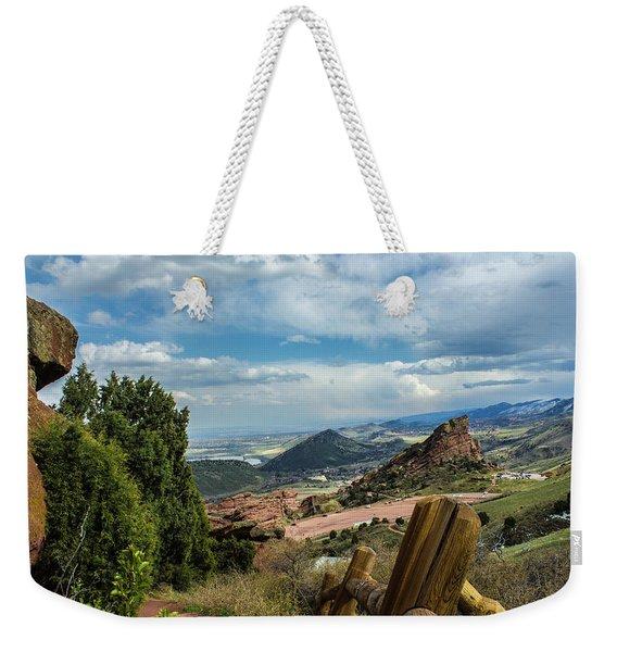 Trails At Red Rocks Weekender Tote Bag