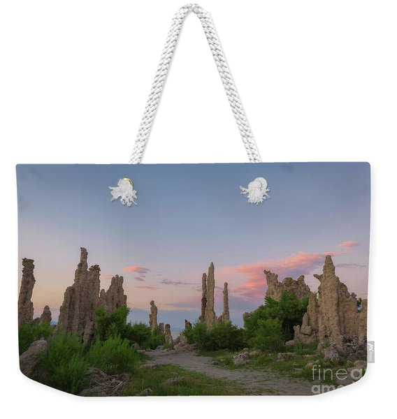 Trails Through Tufa  Weekender Tote Bag