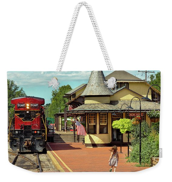 Train Station - There Will Always Be Hope Weekender Tote Bag