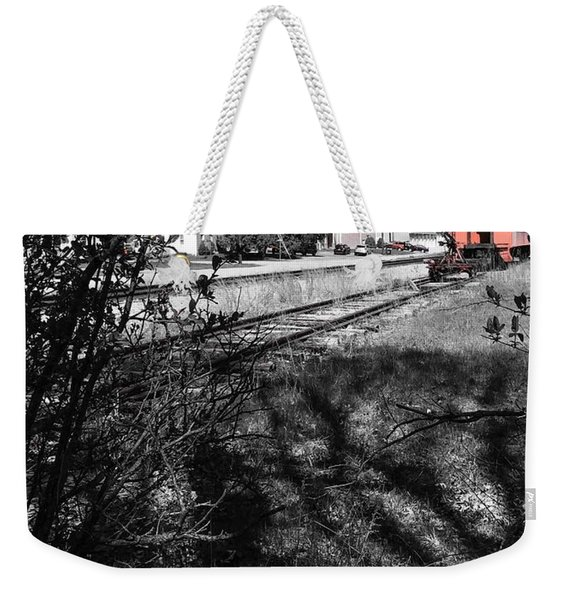 Train Time Weekender Tote Bag