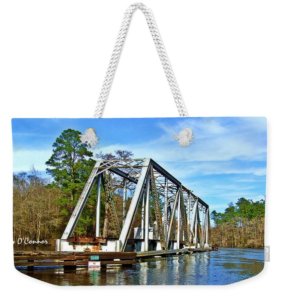 Train Trestle Over The Waccamaw Weekender Tote Bag