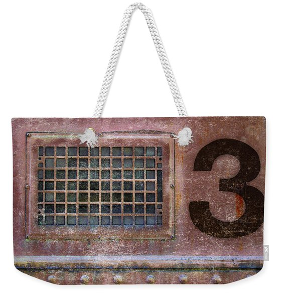 Train Vent 3 Weekender Tote Bag