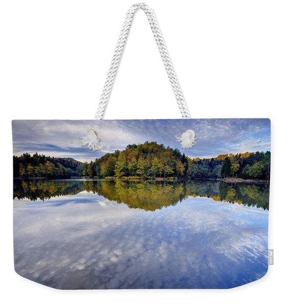 Trakoscan Lake In Autumn Weekender Tote Bag