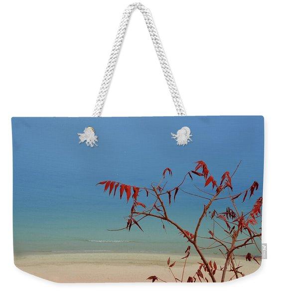 Tranquil Blue Weekender Tote Bag