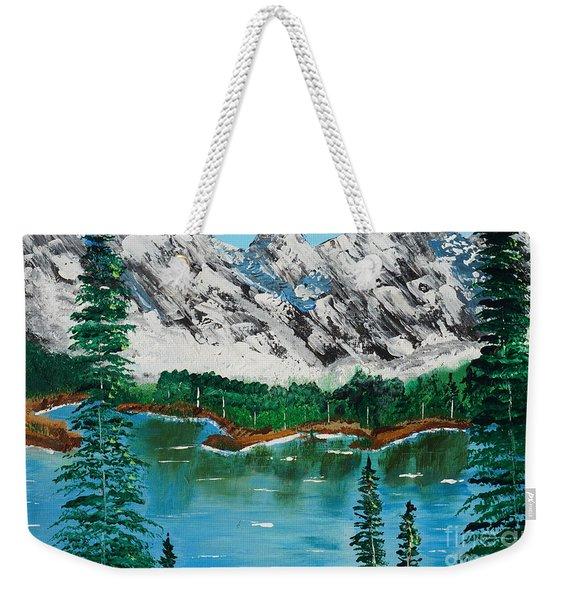 Tranquil Countryside  Weekender Tote Bag