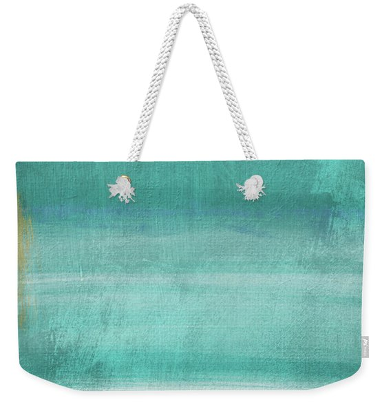 Tranquil Horizon- Art By Linda Woods Weekender Tote Bag