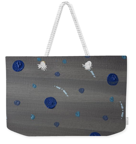 Tranquil Acrylic Abstract Weekender Tote Bag