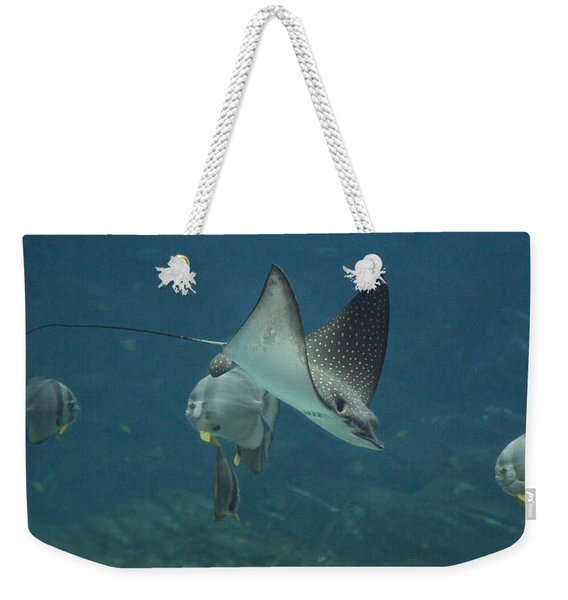 Tranquil Sea Creatures Weekender Tote Bag