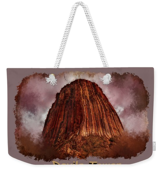 Transcendent Devils Tower 2 Weekender Tote Bag