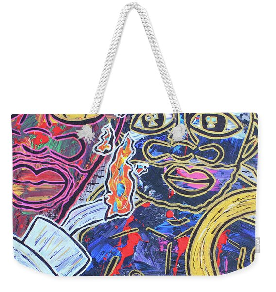 Transgenerational Karma Weekender Tote Bag