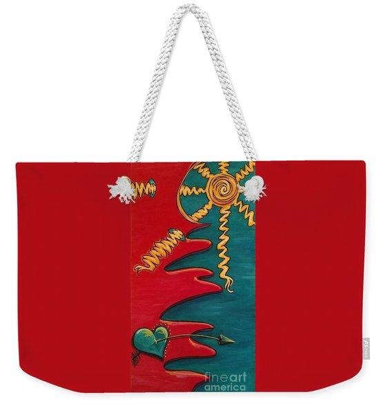 Transilience Weekender Tote Bag