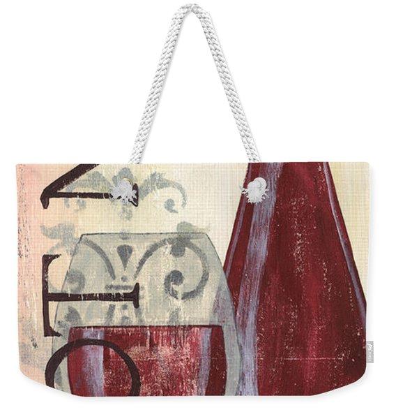 Transitional Wine Pinot Noir Weekender Tote Bag