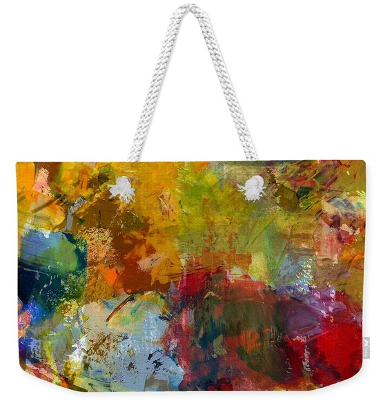 Transparent Layers Three Weekender Tote Bag
