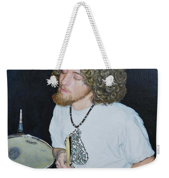 Transported By Music Weekender Tote Bag