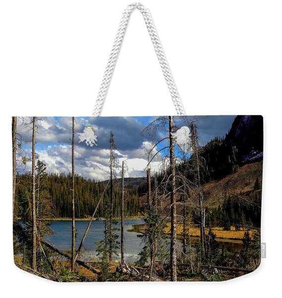 Trap Lake, Roosevelt National Forest, Colorado Weekender Tote Bag